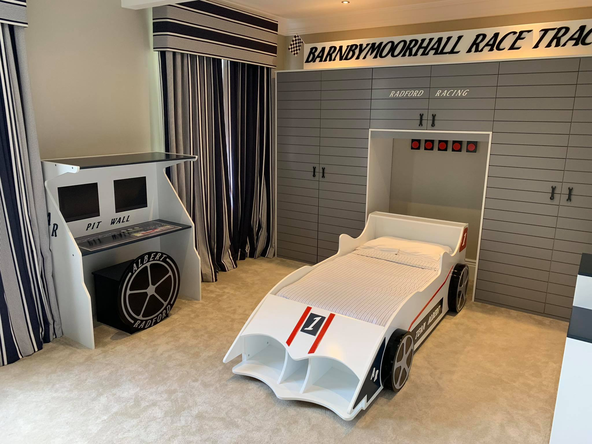 bespoke racing car beds