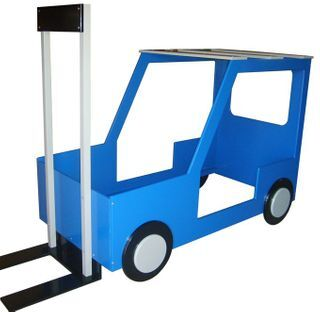 Forklift bed
