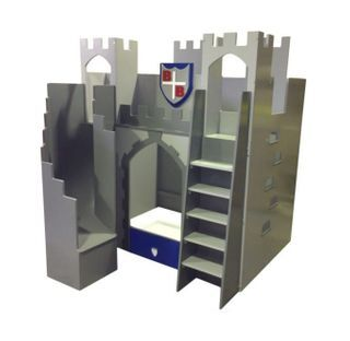 Knight castle bed